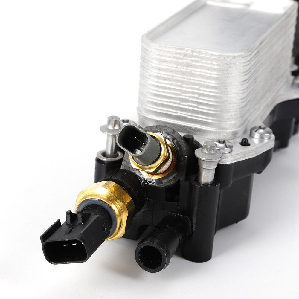 68105583af Engine Oil Filter Adapter Housing Fits Jeep