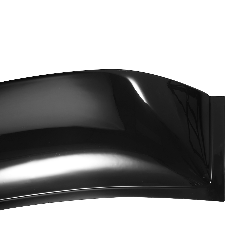 Hic Smoked Tinted Jdm Rear Roof Window Visor Deflector For