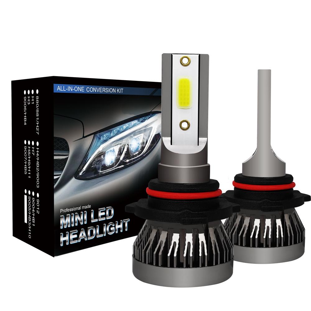 CREE 9005 HB3 Mini COB LED Headlight Conversion Bulb Hi//Lo Beam HID White 6000K