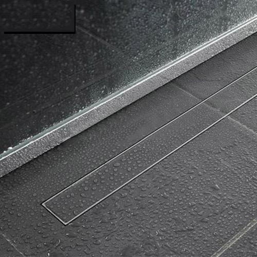 bathroom linear shower drain tile insert floor drain channel stainless steel