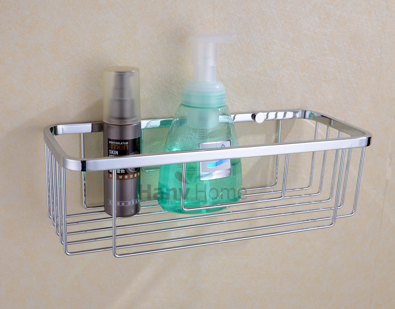 Rustproof Shower Caddy - Stainless Steel Wall Mount Basket Shelves ...
