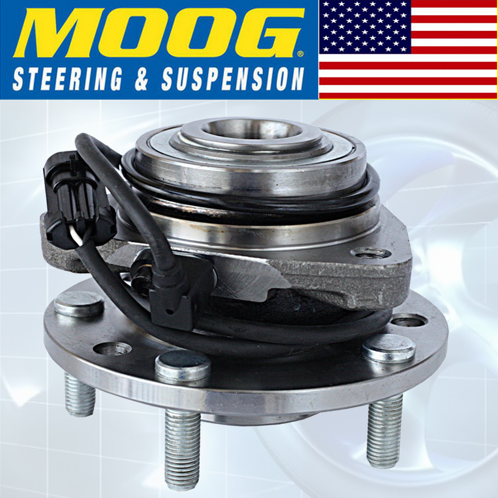Moog Front Wheel Hub Bearing For Chevy Blazer S10 Gmc Jimmy 4x4 Awd 1997 Chevrolet Abs Wiring 4wd W