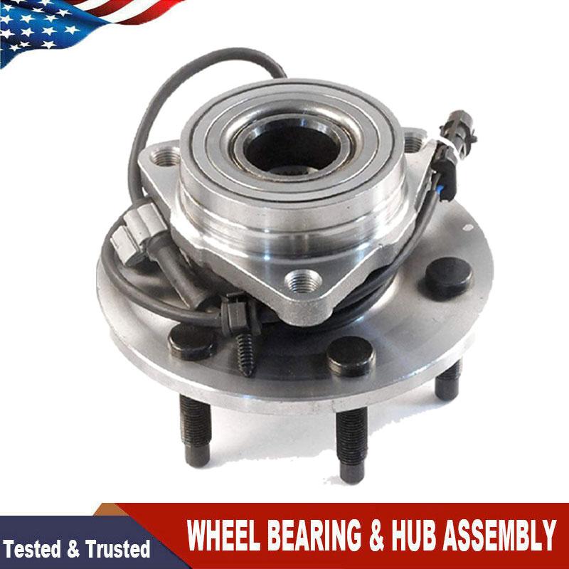 NEW PAIR 2 Front Wheel Hub Bearing Assemblies for Chevy GMC Cadillac AWD 4WD 4x4