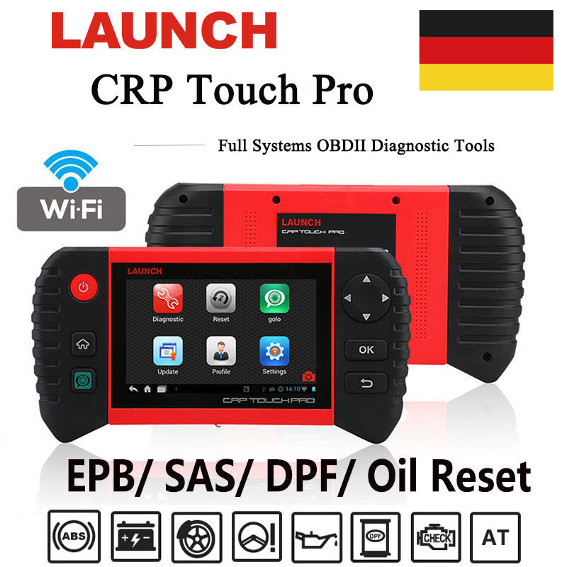 launch x431 crp touch pro kfz obd2 diagnoseger t scanner. Black Bedroom Furniture Sets. Home Design Ideas