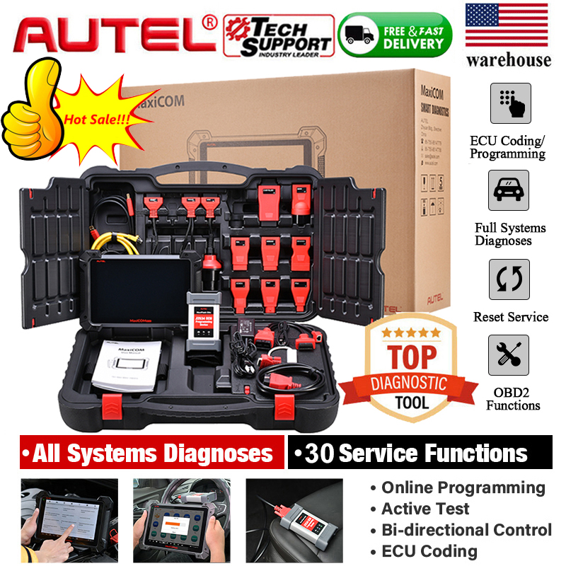 Same Functions as MaxiSys Elite Active Tests ECU Programming /& Coding OE-Level All Systems Diagnostics Autel MaxiSys MS908S Pro Diagnostic Scanner with J2534 ECU Programmer Hot Special Services