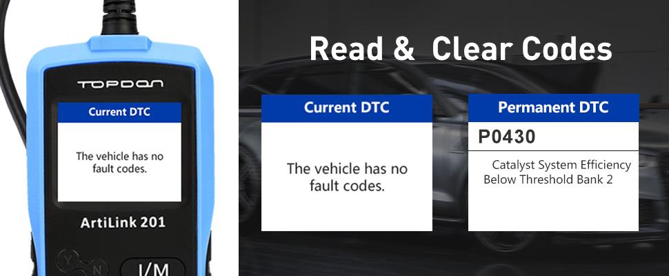 Details about OBD Code Reader OBD2 Scanner Car Check Engine Fault  Diagnostic Tool TOPDON AL201