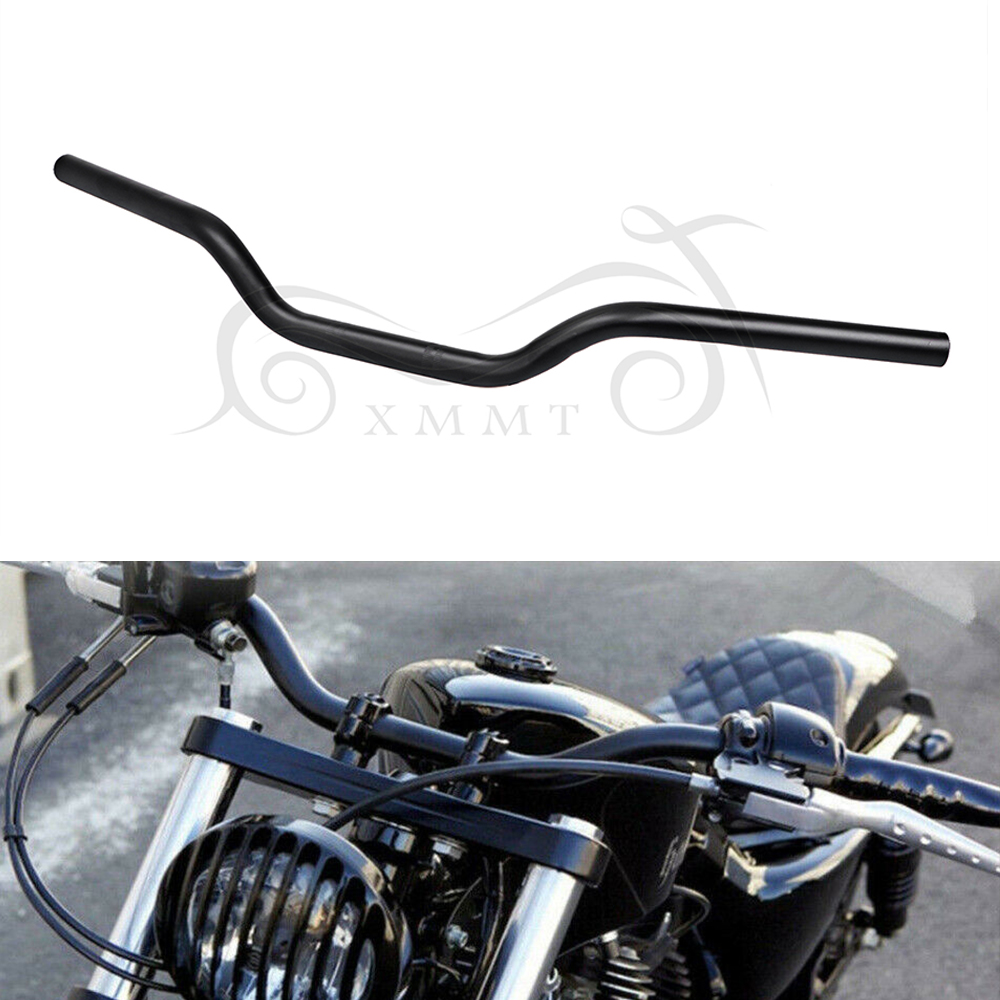 "1/"" 25mm Black Iron Tracker Handlebars Drag Bars For Harley Sportster XL883 1200"