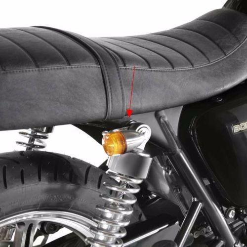 Motorcycle Turn Signal Relocation Brackets for Harley Cafe Racer Bobber Chopper