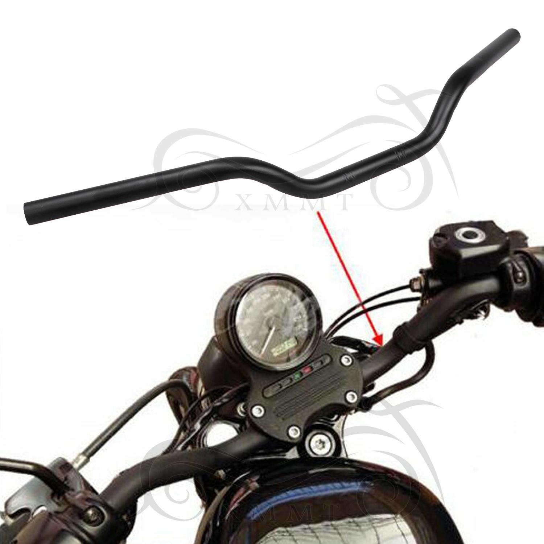 1pc Matte Black Handlebars Drag Bars For Harley Davidson Sportster Xl 883 1200 Ebay