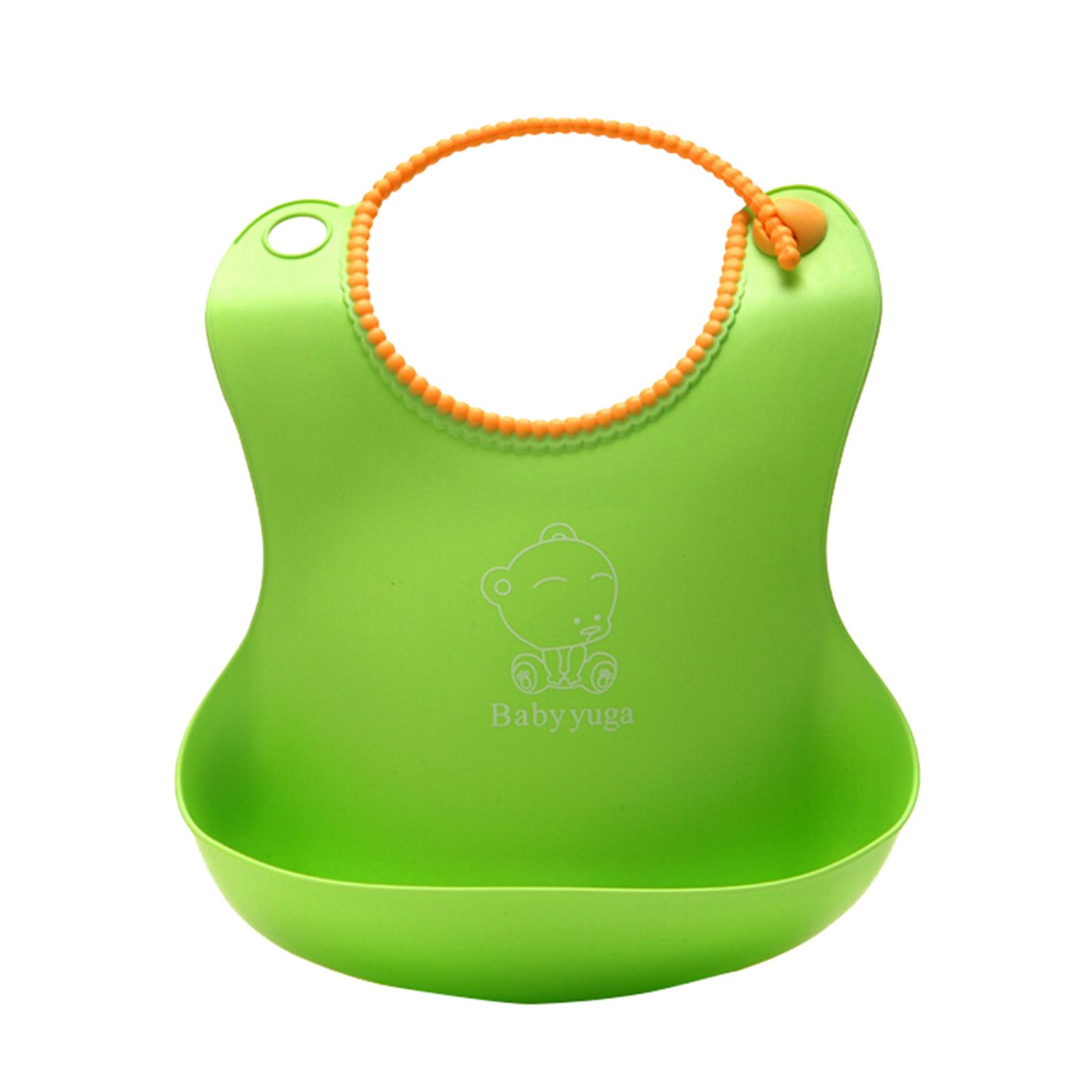 Baby-yuga-Comfi-Neck-Catch-All-Bib-Adjustable-Bib-Plastic-Bib-Baby-Feeding