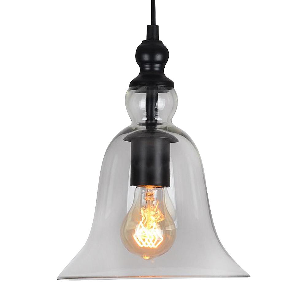 Glas Lampenschirm Modern Kronleuchter Retro LED Pendelleuchte Mini  Deckenleuchte