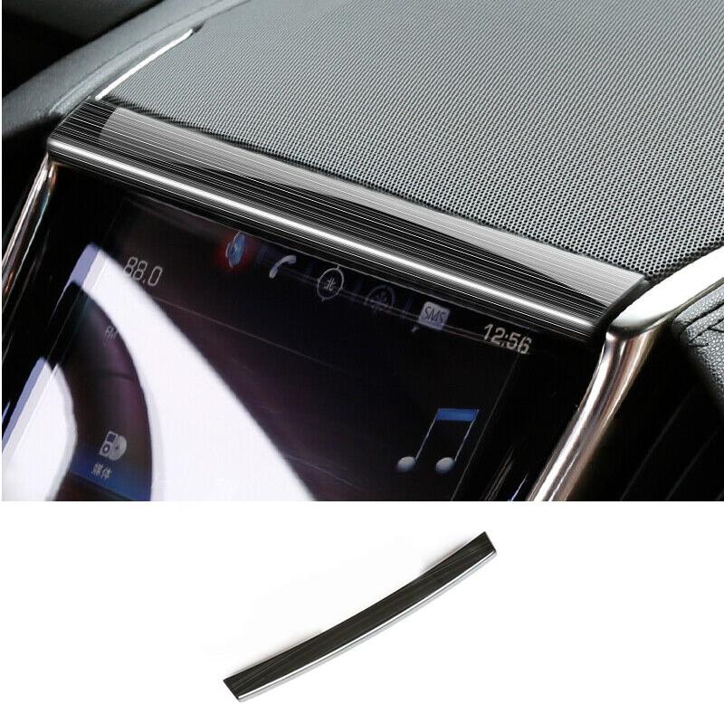 For Cadillac ATS 2014-2019 Black Titanium Console