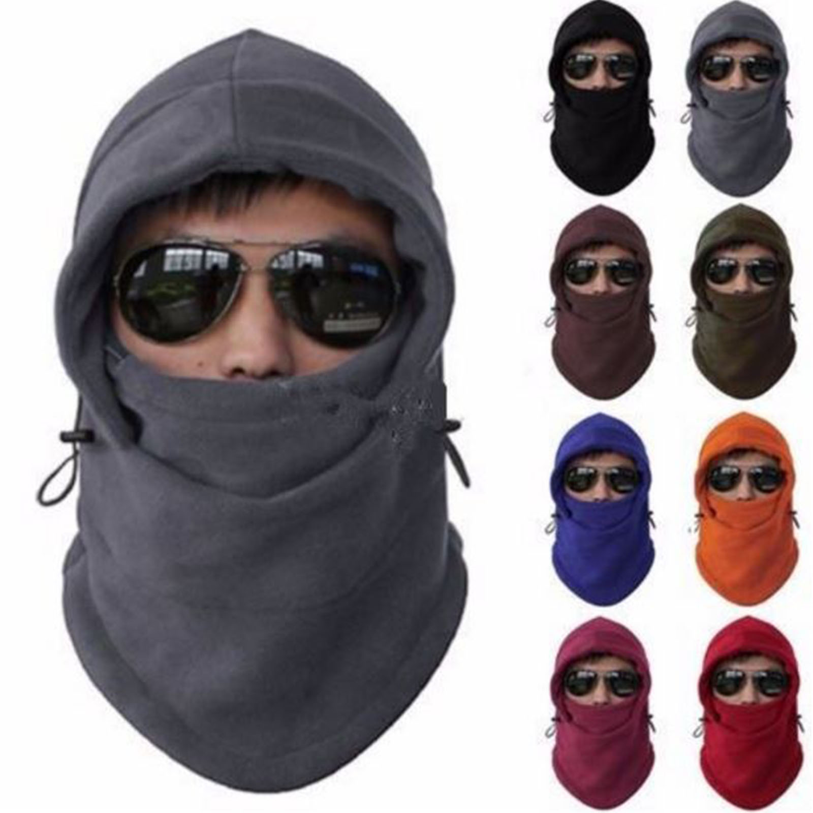 New Full Cover Face Mask Headwear Balaclava Bike Caps Moderate Cost Girl's Hats