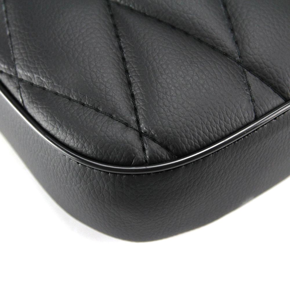 Universal Motorcycle Black Diamond Rear Passenger Pillion
