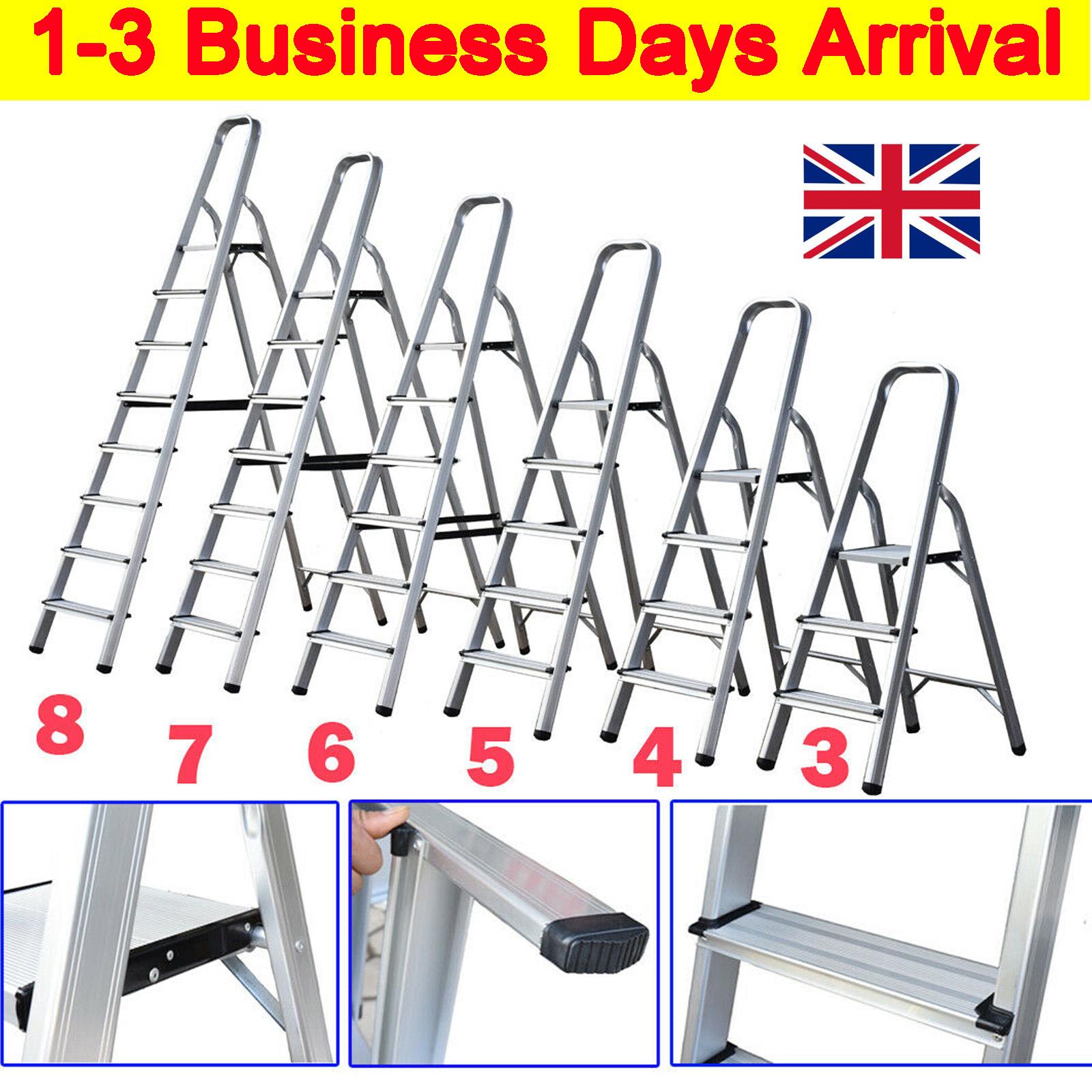 Lightweight Small 2 Step 3 4 5 6 7 8 Step Ladder Portable