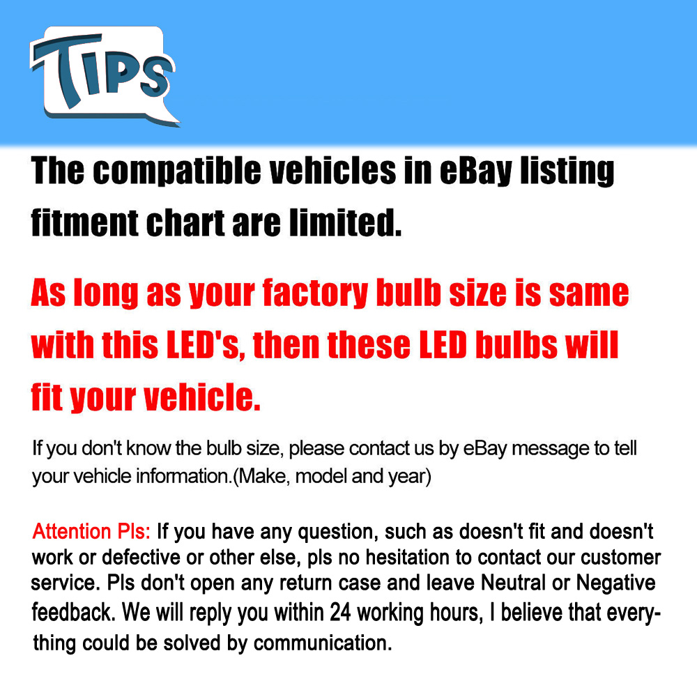 Details About For Ford F150 2004 2005 2006 H13 Led Headlight Bulb Conversion Kit Hi Low Beam
