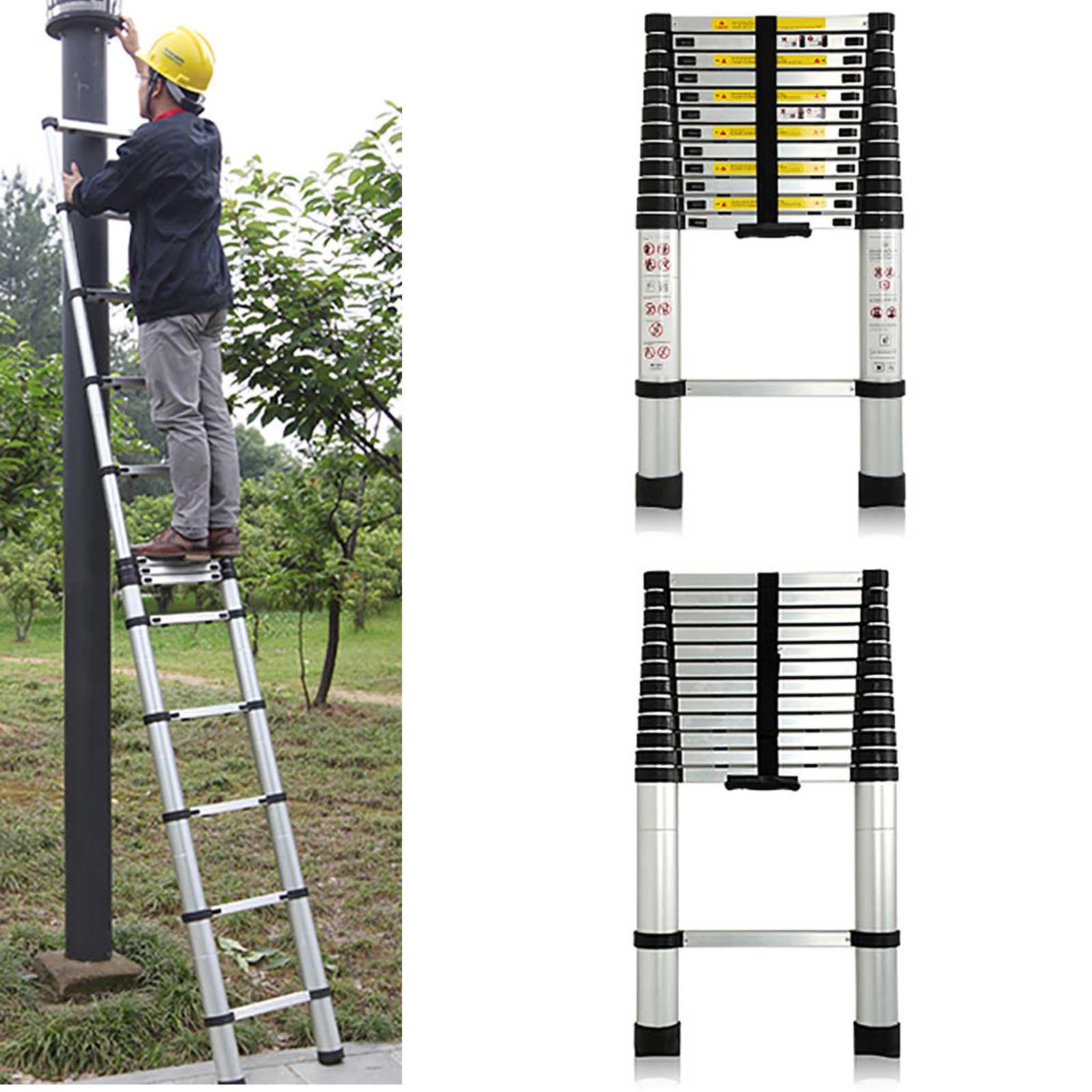 Aluminum Telescopic Stairs Attic Ladder Folding