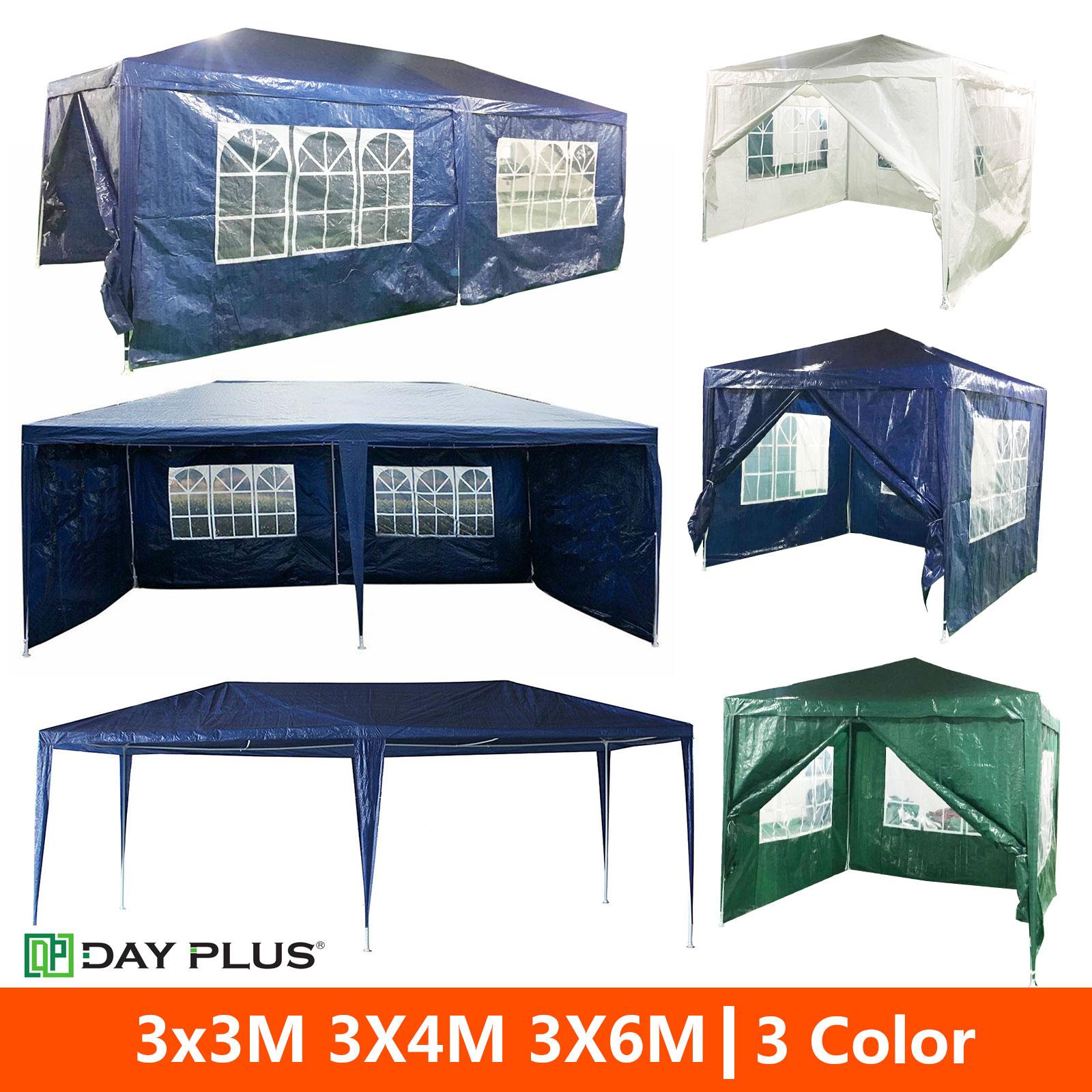 3X3/4/6M Outdoor Car Canopy Portable Cover Gazebo Garage ...