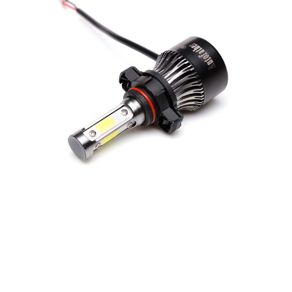 390000LM 9012 LED Light Bulbs 5202 Fog Headlights For 2014 2016 Jeep Cherokee