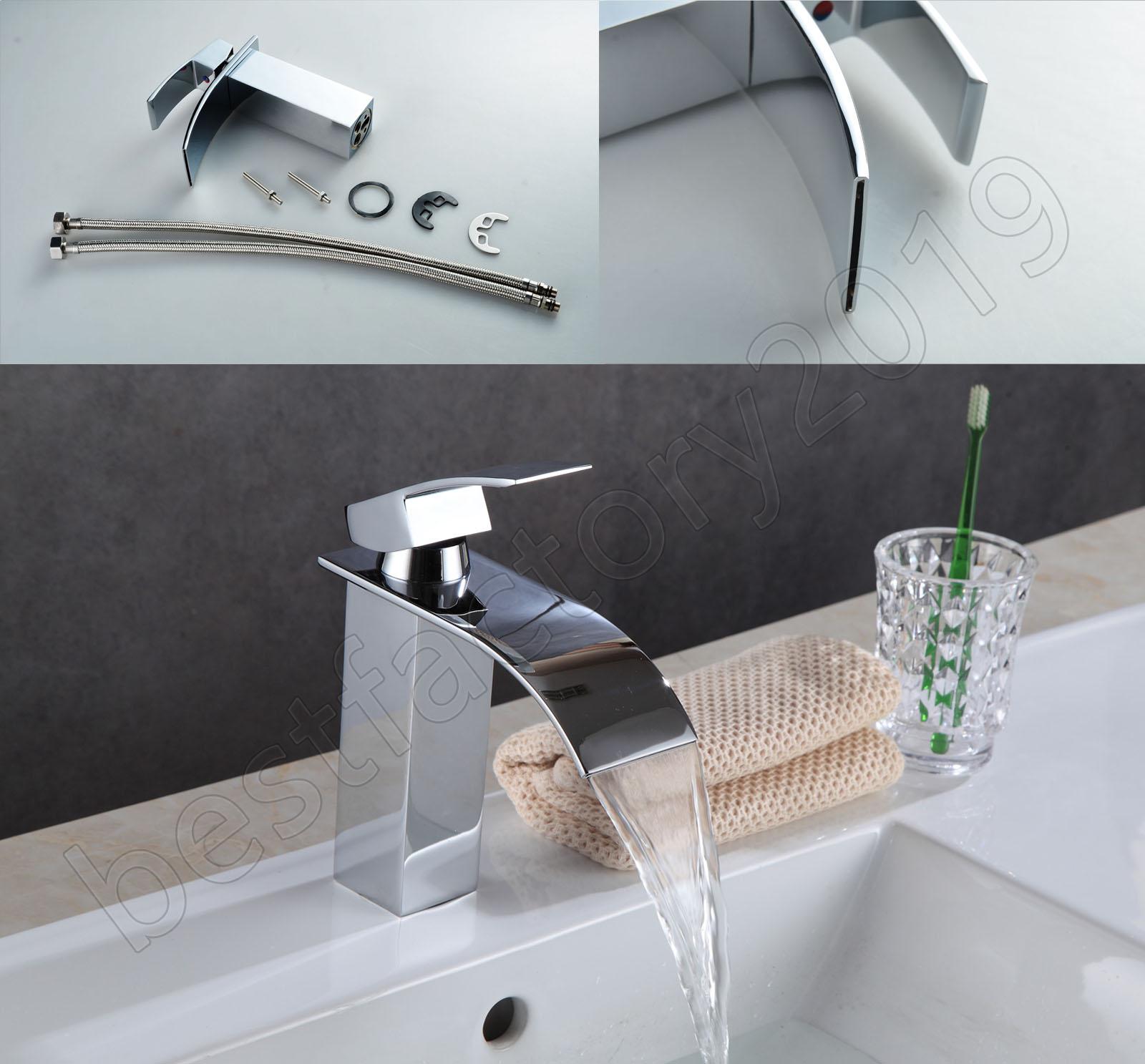 Wasserhahn Fur Waschbecken Mischbatterie Bad Einhebel Armatur Badezimmer Chrom Ebay