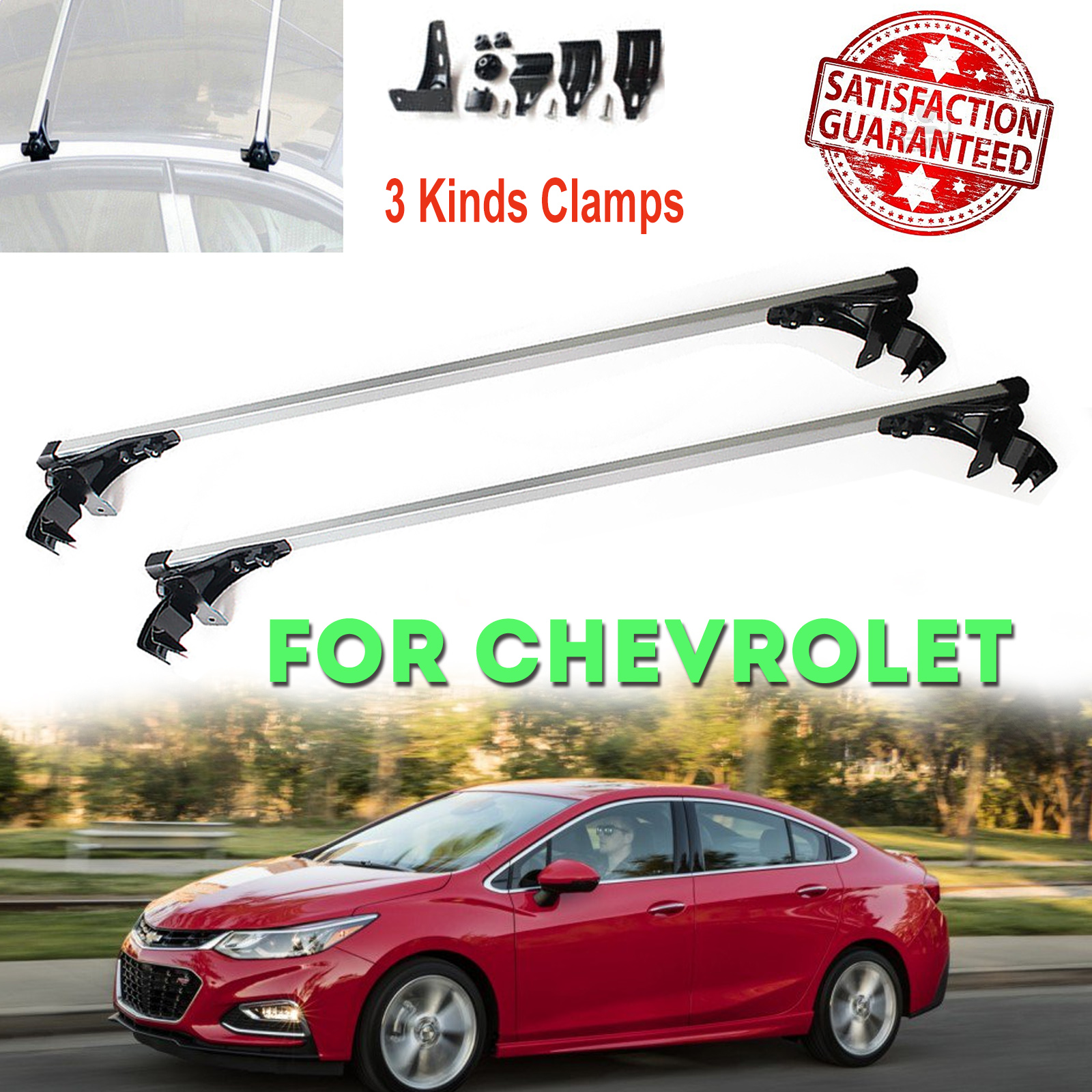 For Chevrolet Malibu 2011-2016 Car Top Roof Rack Cross Bars Luggage Carrier