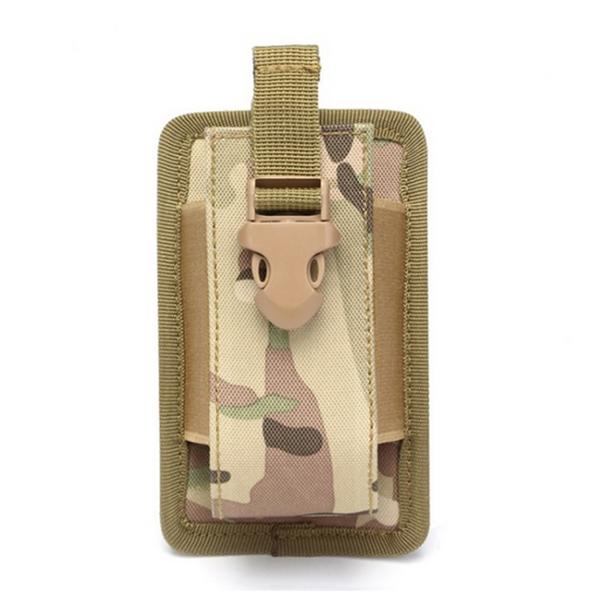 Outdoor Flashlight Bag Mini Belt Pack Protable Radio Molle Pouch Case Bag
