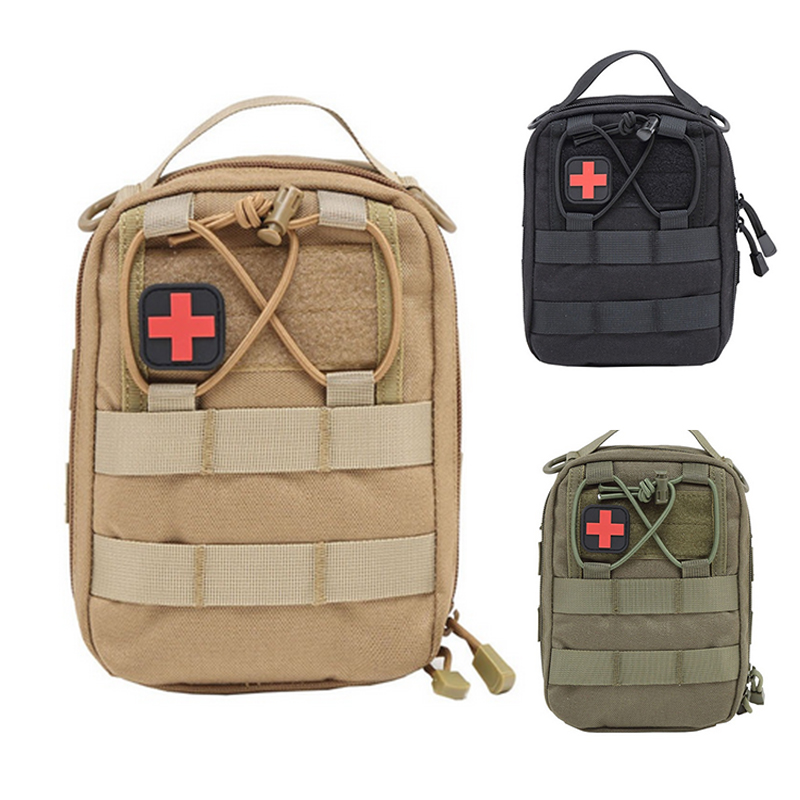 Hunting Military First Aid Bag Molle Pouch Bags Emergency