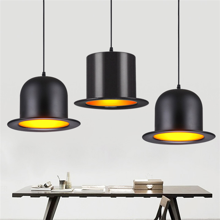 Jeeves /& Wooster Wool Hat Tall Hat Bowler Pendant Light Ceiling Lamp Lighting