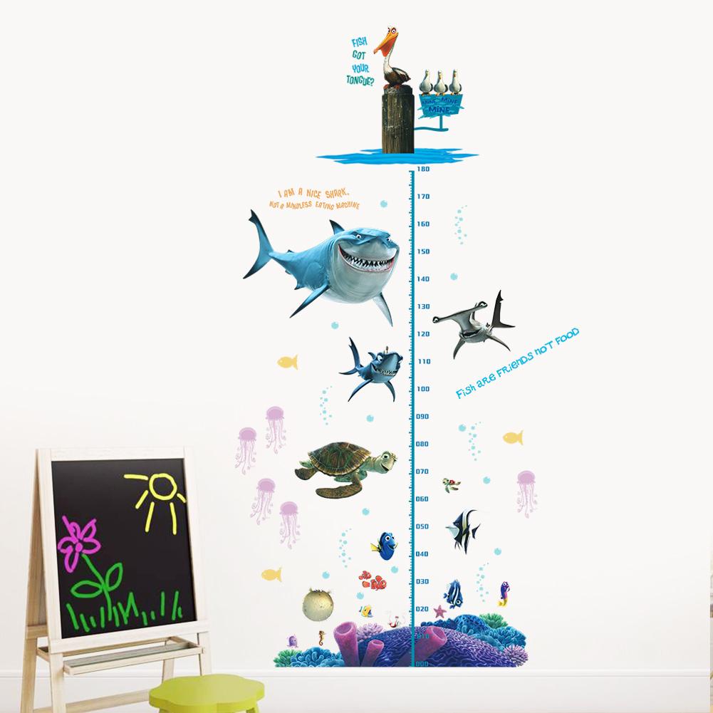 Disney Finding Nemo Height Wall Sticker Decal Art Wallpaper 42 Kids Room Decor