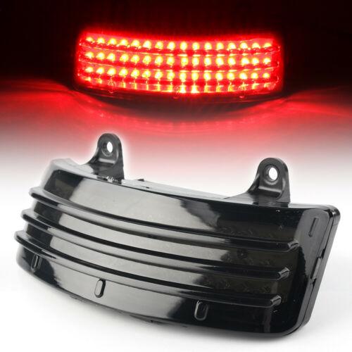 Smoke Tri-Bar LED Rear Tail Fender Tip Light For Harley Road Glide FLTRX 14-18