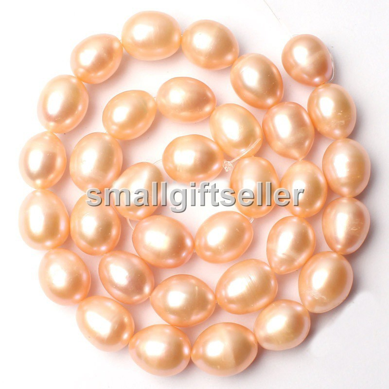 """10x12mm gray Natural Freshwater Pearl Gem Loose Beads Strand 15/"""""""