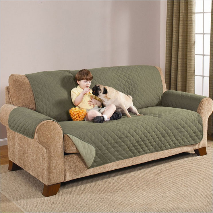Waterproof Soft Microfiber Sofa Couch Cover Cushion Pet Dog Protector Mat