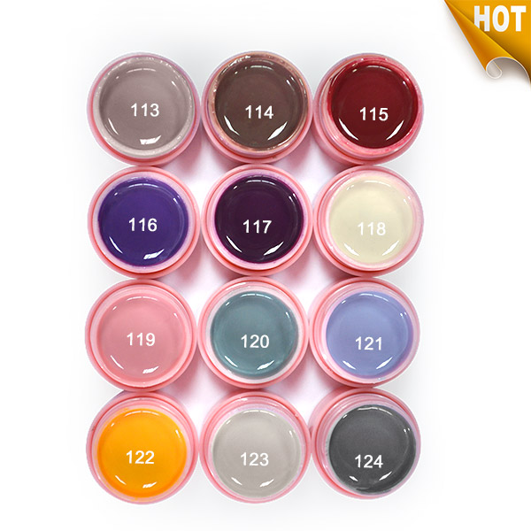 12Pcs Color 5ml CANNI Painting UV LED gel soak off  Gel Nail Art Tips