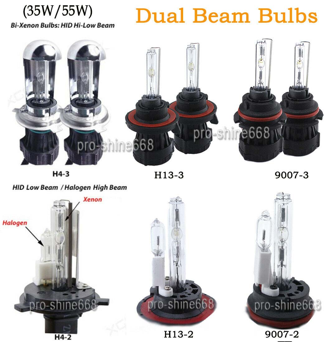 VW Touareg 7P5 H7 501 55w ICE Blue Xenon HID Low//Side Headlight Bulbs Set
