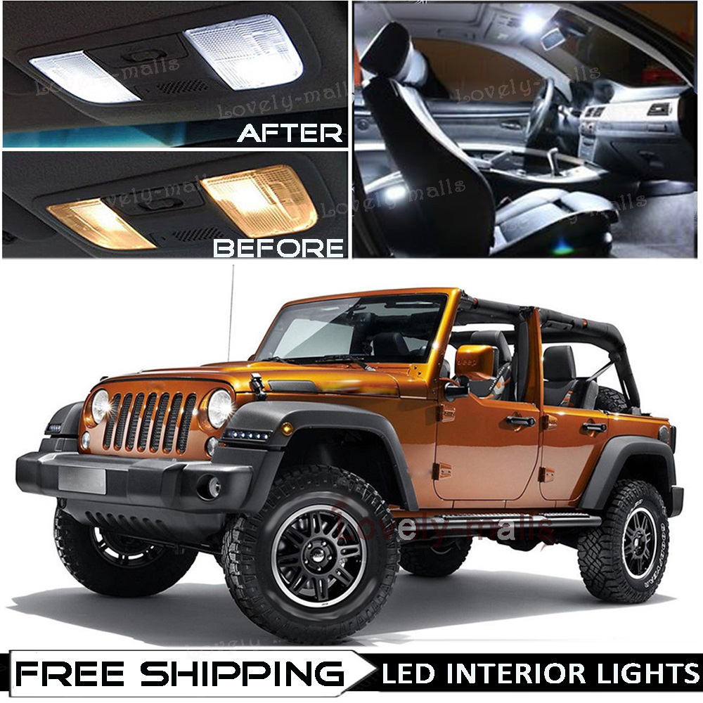 Car Truck Light Bulbs Auto Parts Accessories 6x Green