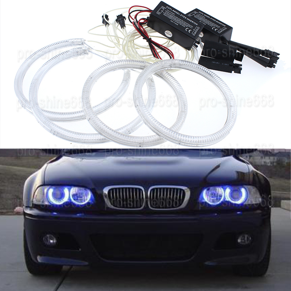 For BMW E90 Non projector 2005 - 2008 LED Angel Eyes Halo