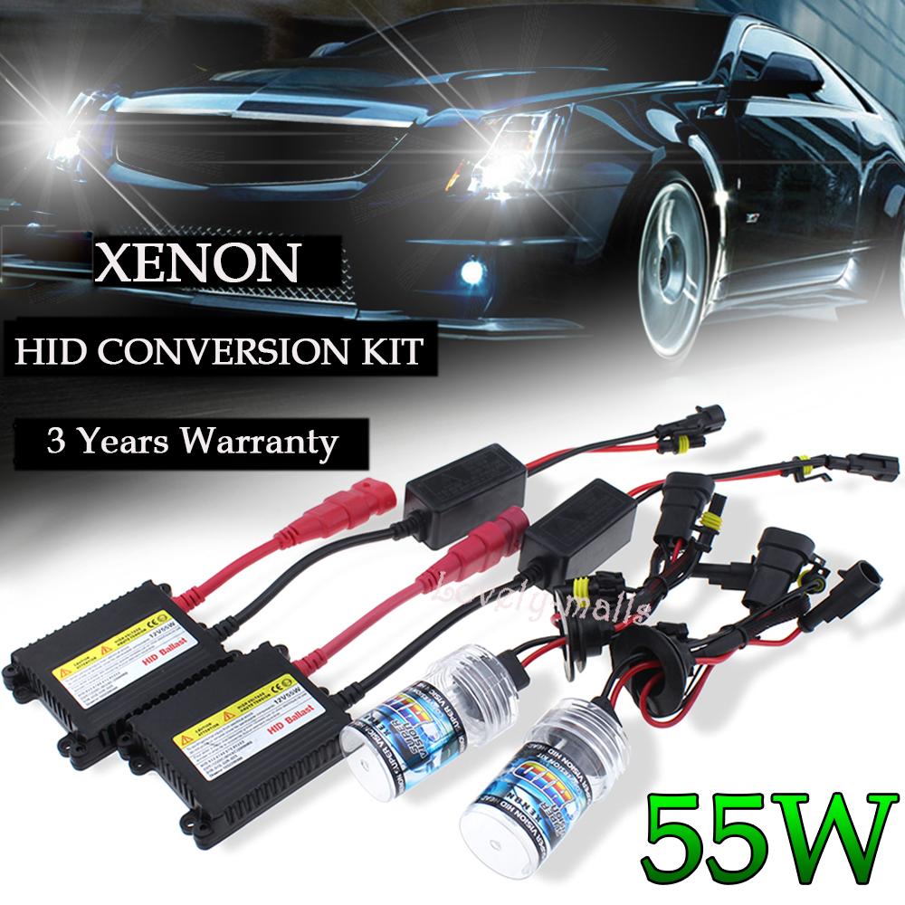 35W 9006 HB4 Xenon HID Conversion Kit/'s Bulb Headlight Low Beam Fog Light US