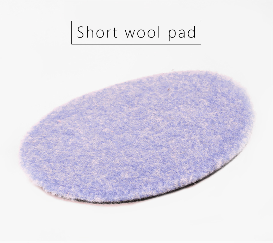 "SPTA 6/""//5.2/"" Lambs Woollen Polishing Buffing Pad Wool Pads For Car Detailing Wax"