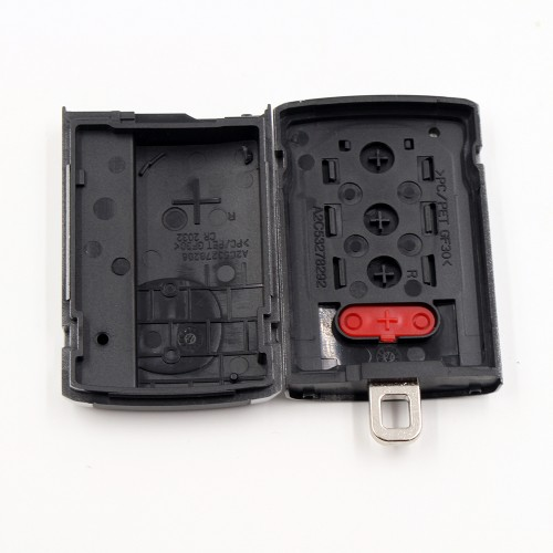 3+1 Button Replacement Remote Key Case Housing For Acura