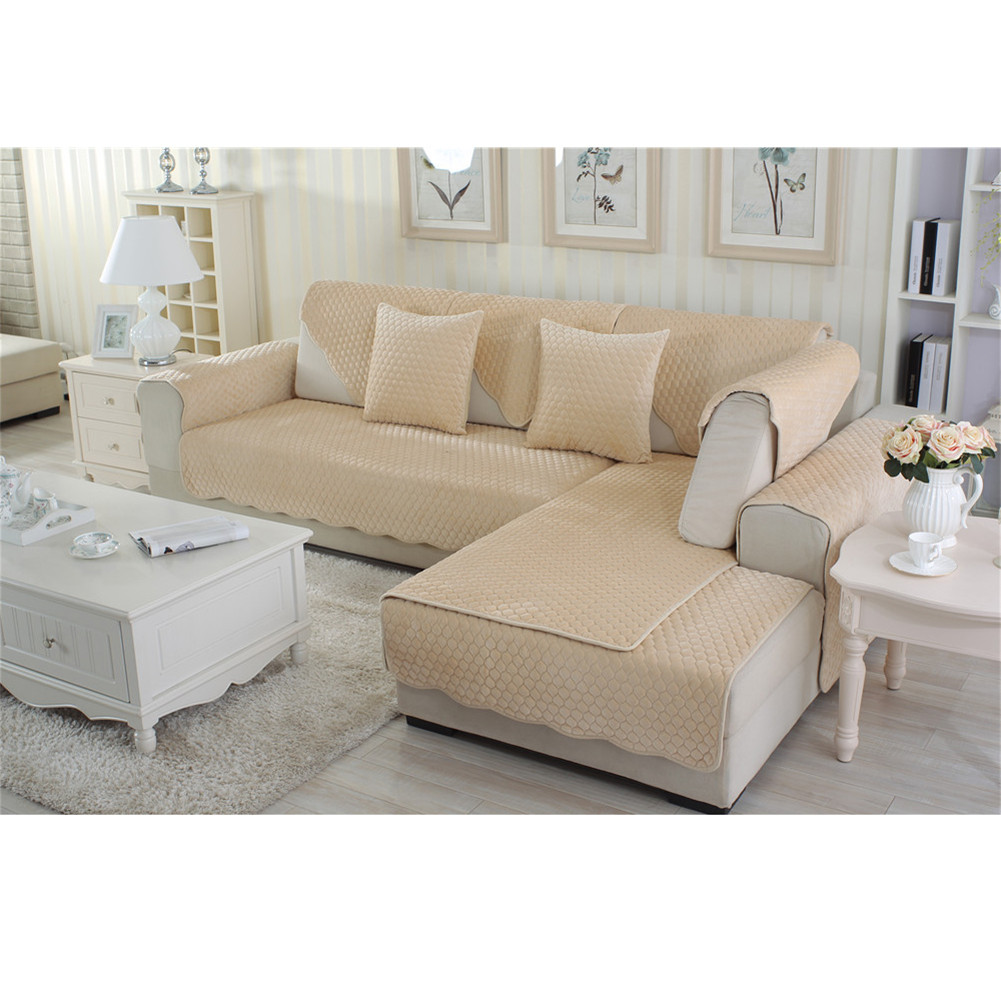 Cotton Sofa Mat Couch Furniture Pad Cover Slipcover Dust