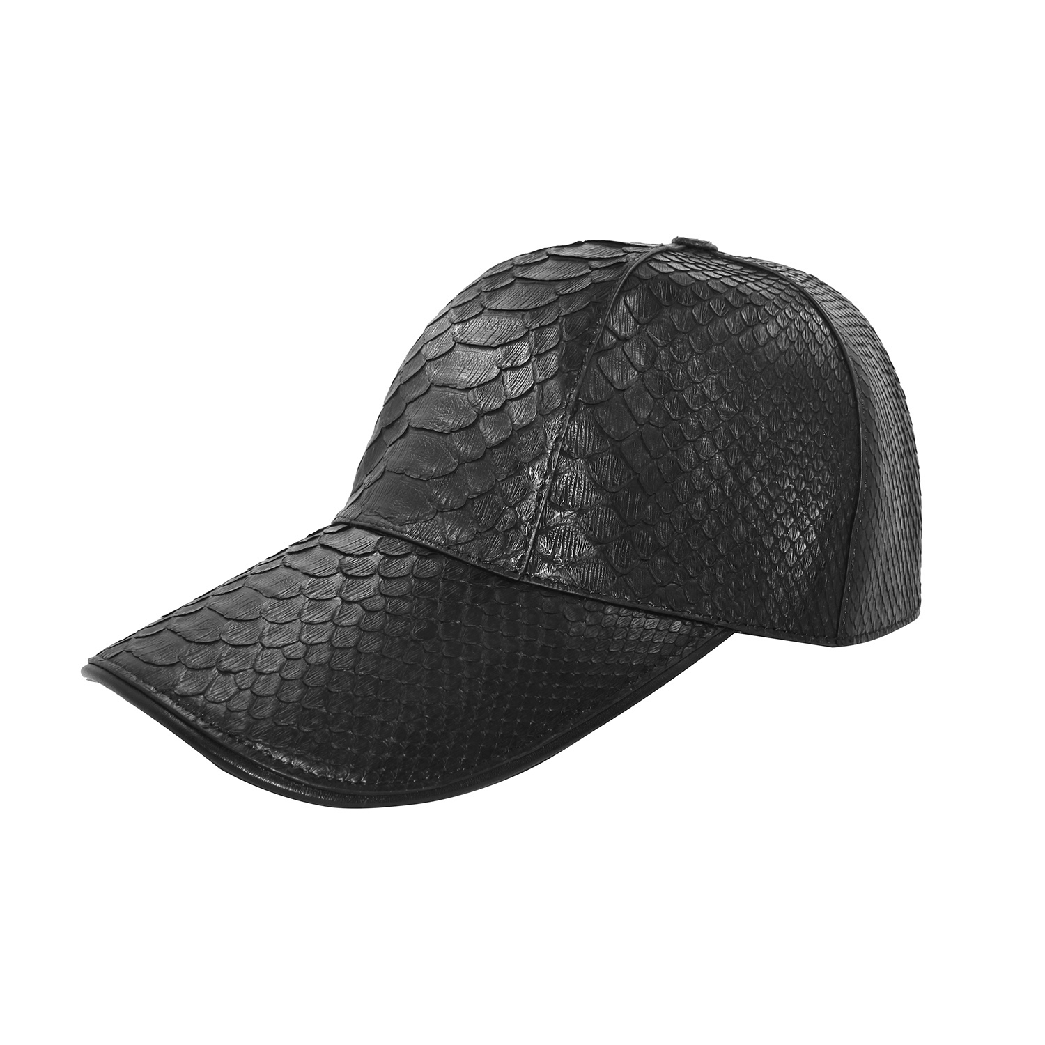Genuine real Python snake skin  hats Cap Leather one size