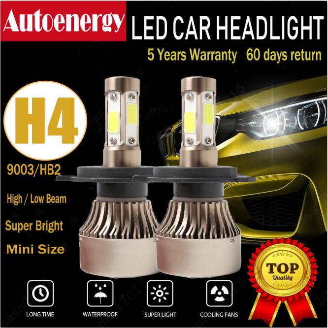 Rover 400 55w Clear Xenon HID High//Low//Side Headlight Bulbs Set