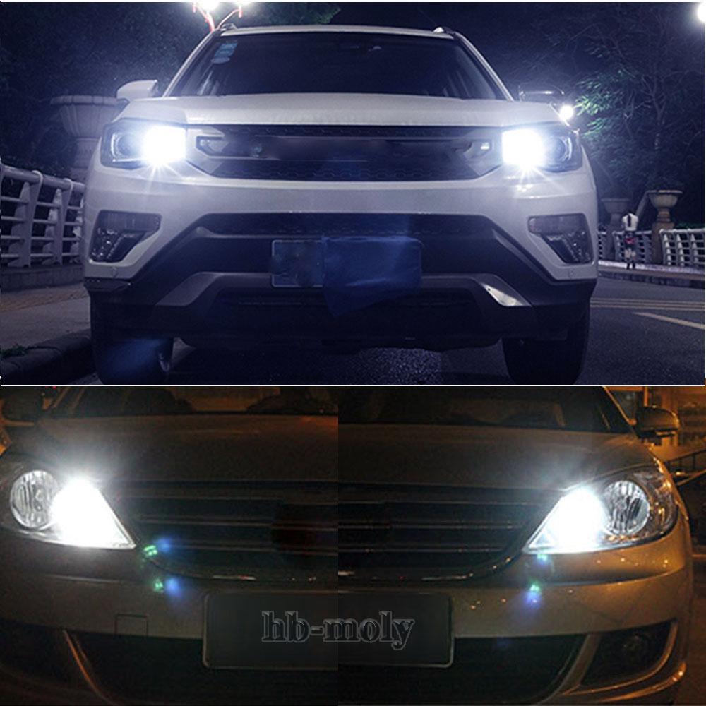 VW Amarok Blue 4-LED Xenon Bright Side Light Beam Bulbs Pair Upgrade