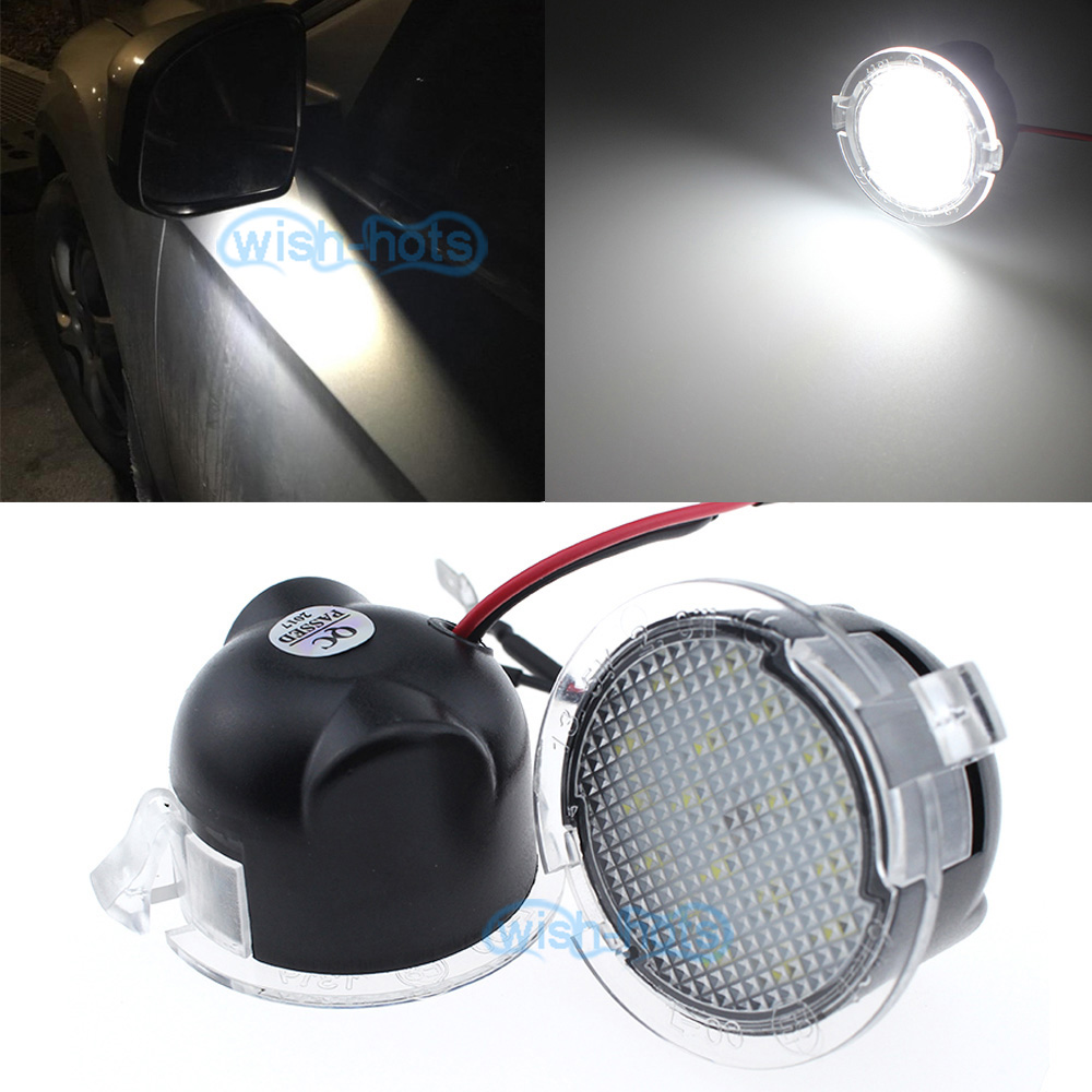 For Ford F150 Expedition High Power White Led Side Mirror