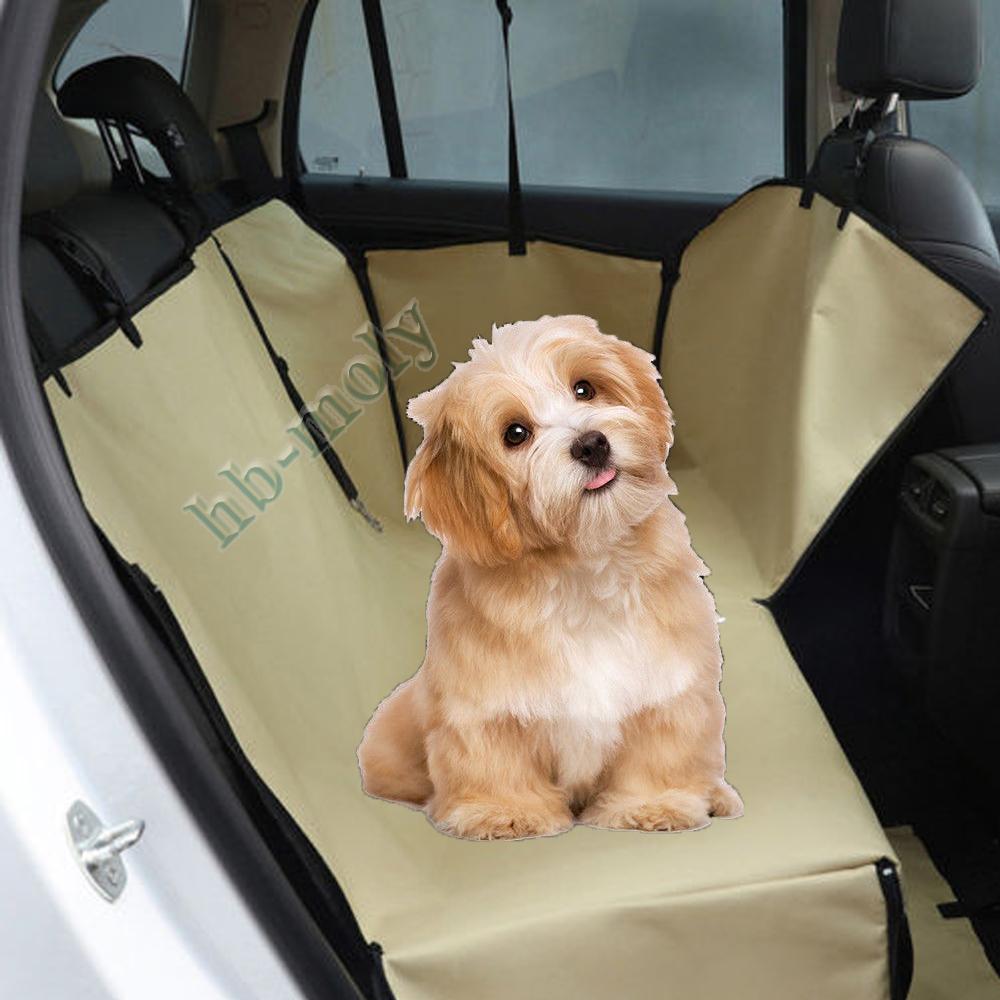 Details about Waterproof Pet Dog Seat Hammock Cover Car Suv Van Back Rear  Protector Mat Khaki