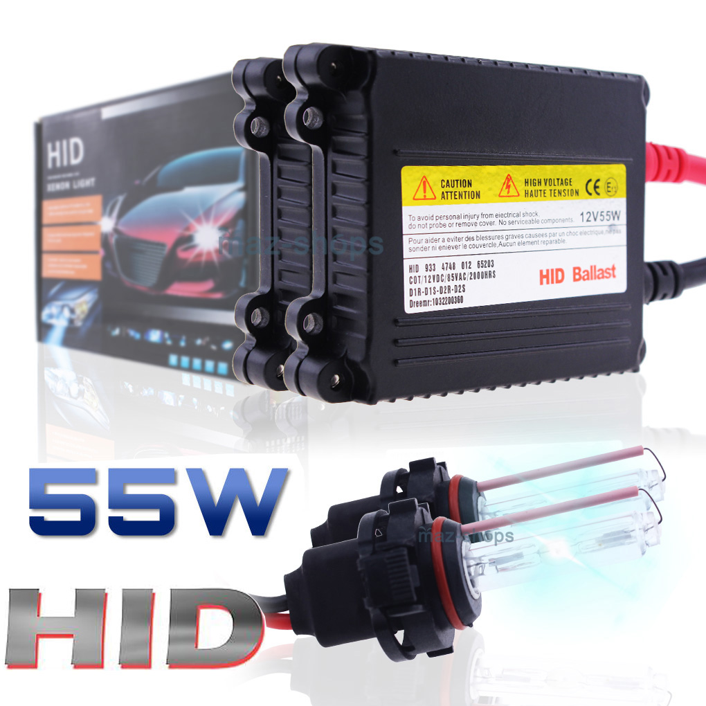 Details about HID Xenon Conversion KIT Headlight Hi/Low Fog Lights For  95-2018 Dodge RAM 1500