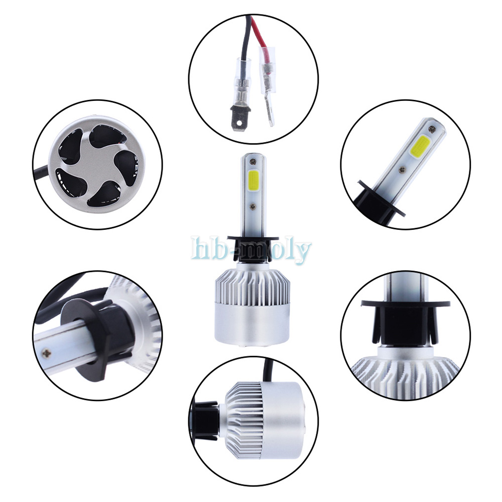 VW New Beetle 1Y7 H7 H7 501 100w Clear Xenon HID High//Low//Side Headlight Bulbs