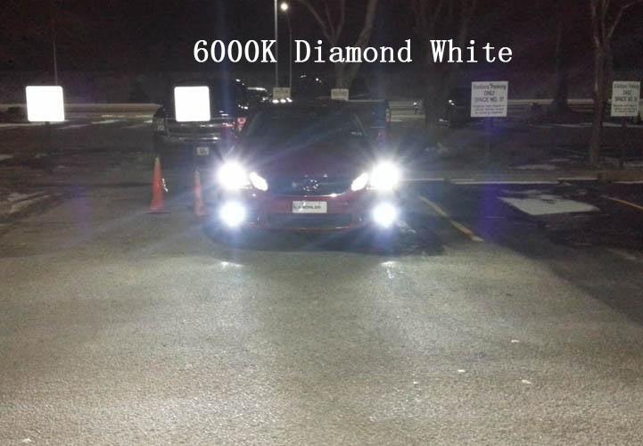 Fits Subaru Legacy MK5 100w Super White Xenon HID Front Fog Light Bulbs Pair