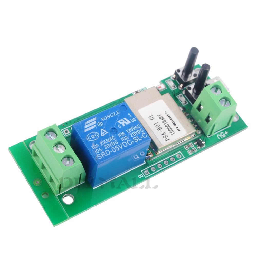 ITEAD Sonoff WiFi Wireless Switch 5V Relay Module Smart