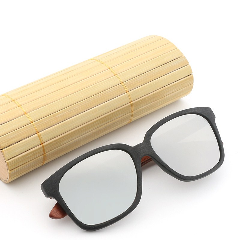 polarized wood frame sunglasses men women 039 s - Wooden Frame Sunglasses